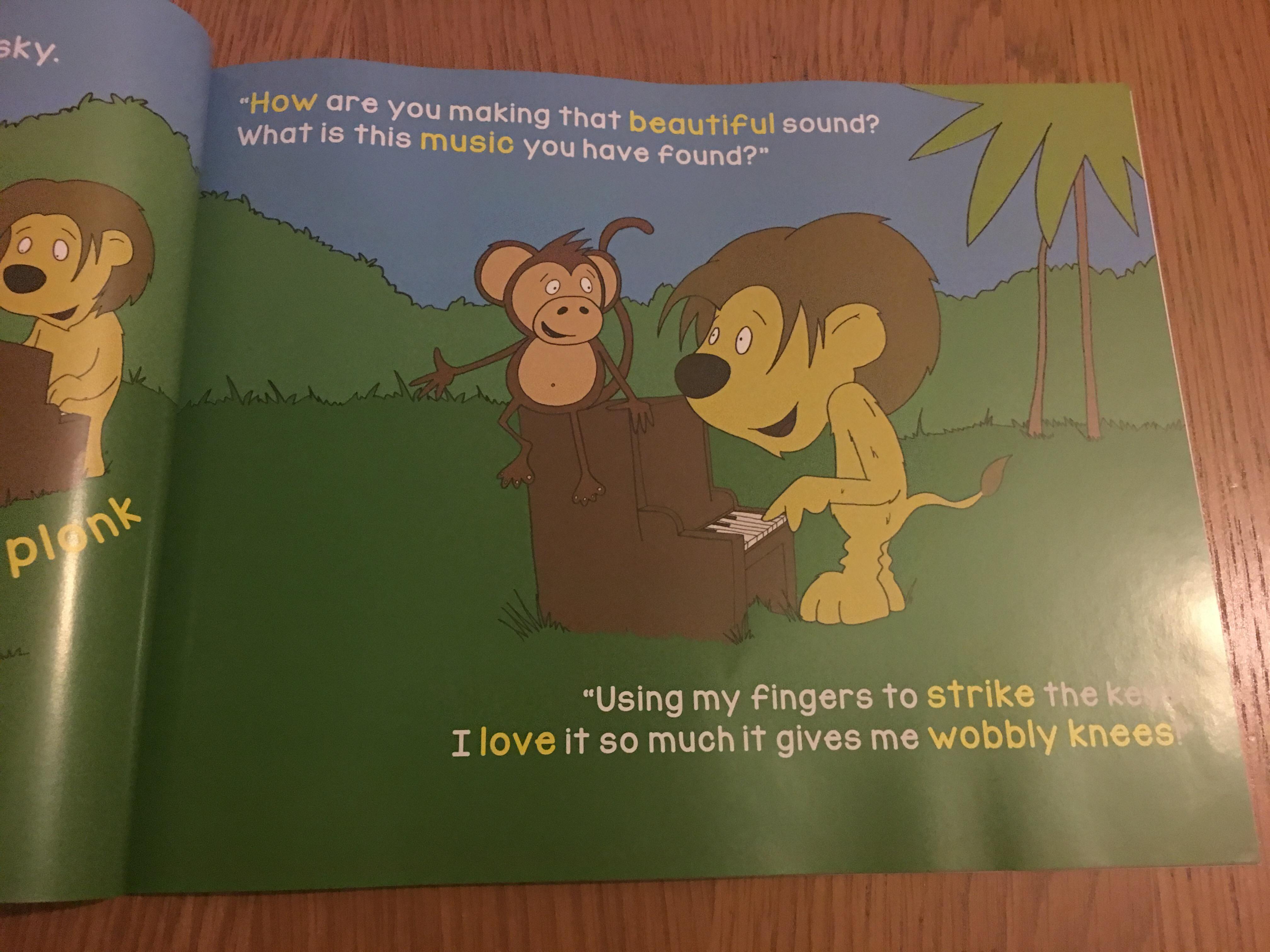 Jungle Jam Book