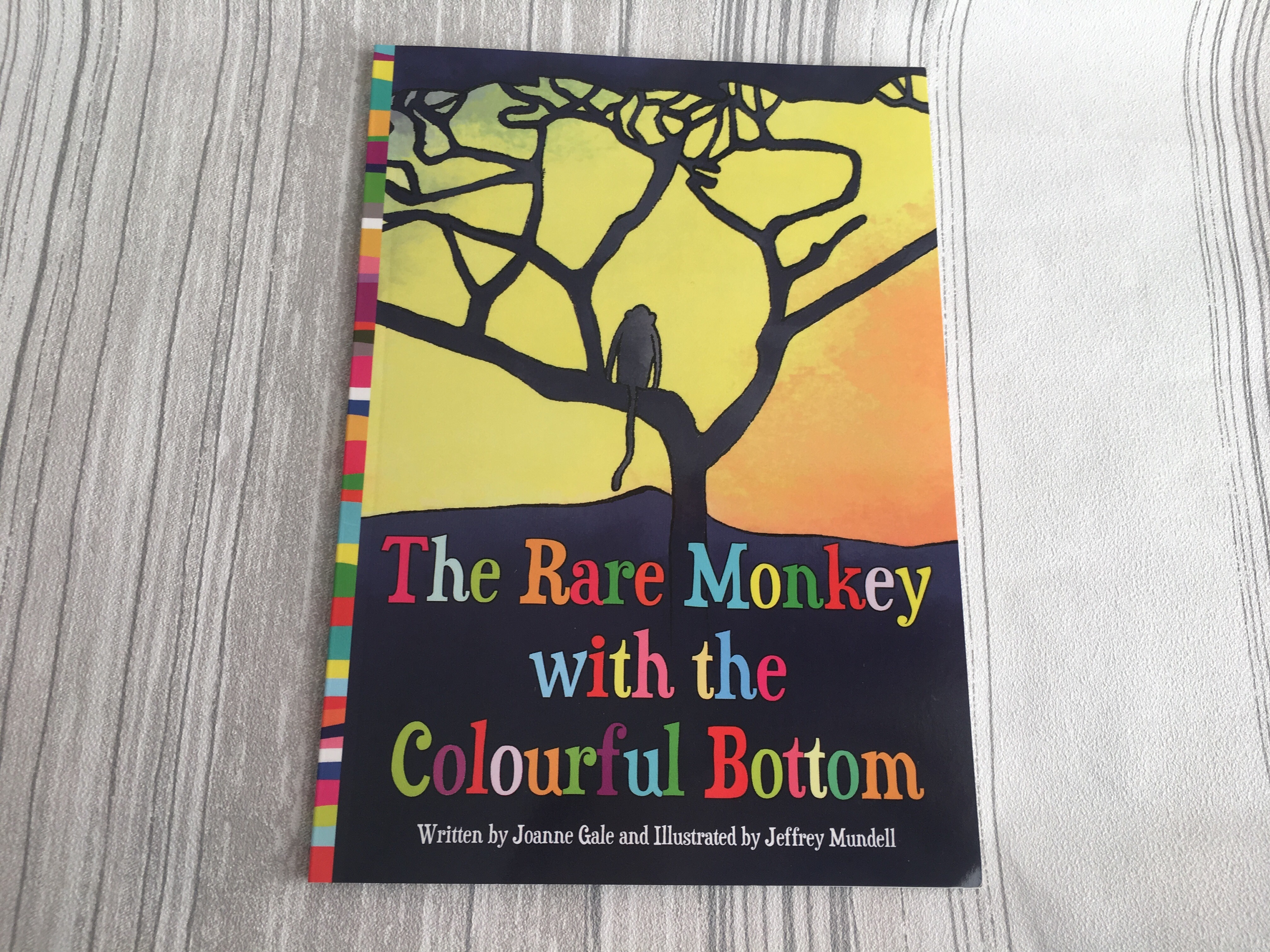 The Rare Monkey with the Colourful Bottom